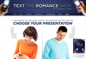 Text The Romance Back For Girl And Boy
