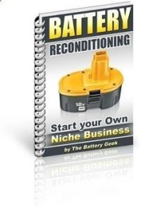 car battery reconditioning